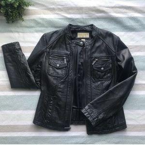 Micheal Kors genuine leather jacket - M